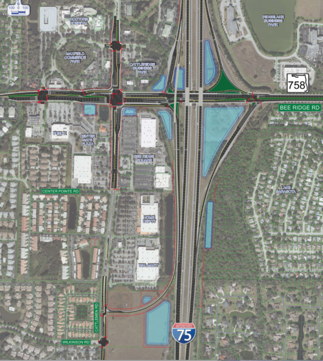An FDOT graphic shows the proposed changes. Image from FDOT