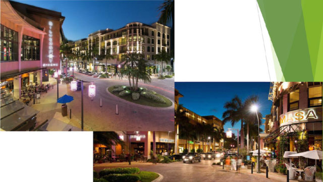 Photos show the Core Development mixed-use project in Naples. Images courtesy Sarasota County