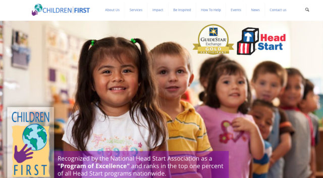 Image from the Children First website