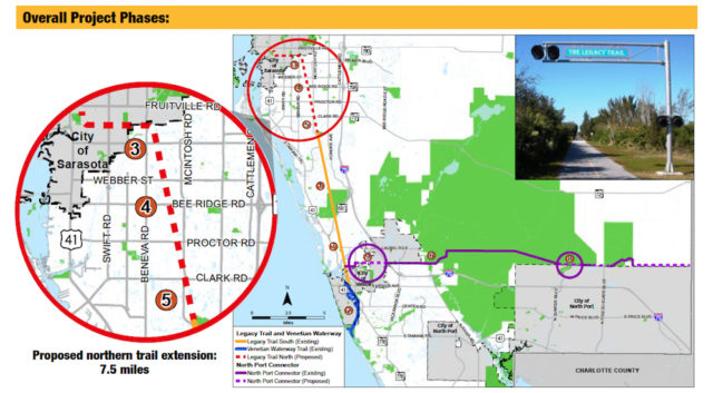 The new fact sheet includes these maps. Image courtesy Sarasota County