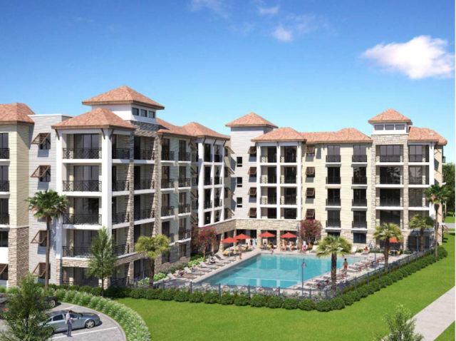 A rendering of the proposed hotel was included in the application submitted to the county. Image courtesy Sarasota County