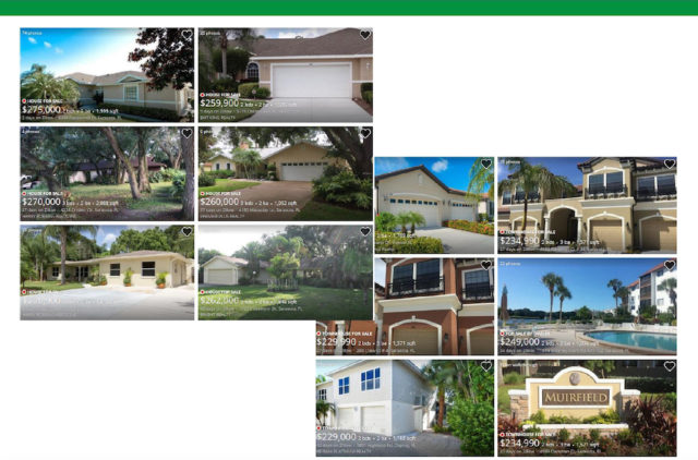 A county graphic shows examples of 'affordable housing.' Image courtesy Sarasota County
