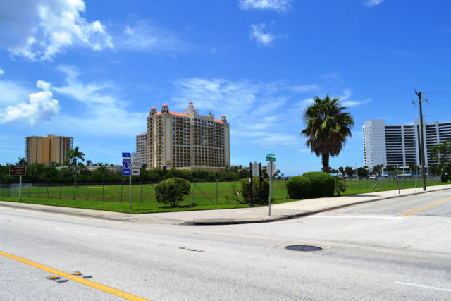 The Ritz-Carlton stands to the south of the Quay property. File photo