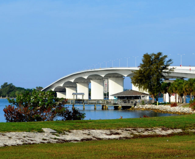 The Ringling Bridge is the connector between Longboat Key and the City of Sarasota. File photo