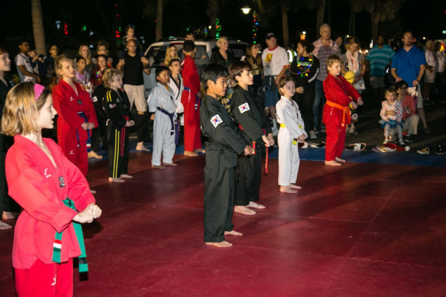 A martial arts group demonstration by youngsters is part of the festivities. Photo contributed by Peter van Roekens