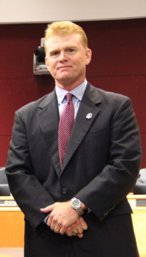 Commissioner Charles Hines. Rachel Hackney photo
