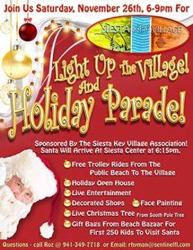 Light Up the Village will be held on Nov. 26. Image courtesy SKVA