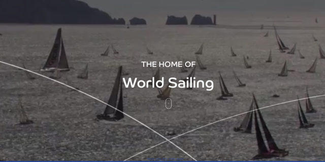 Image from the World Sailing homepage