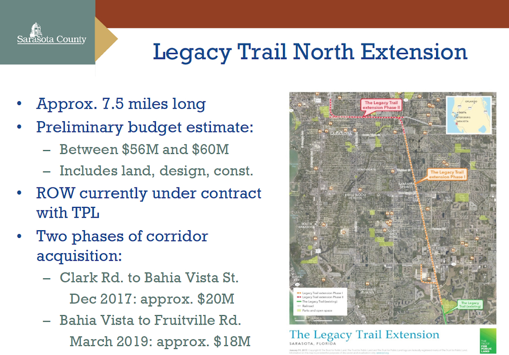 Friends Of The Legacy Trail Inks Agreement With County To Work On