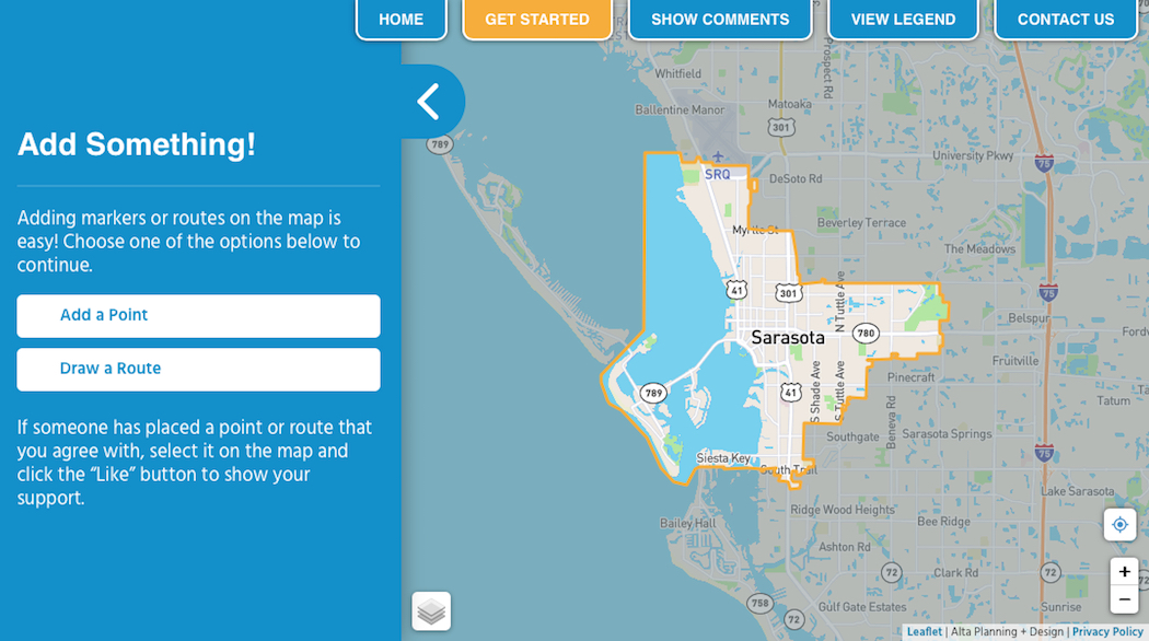 Sarasota in Motion' Phase 2 includes interactive online map ... on map saigon, map in color, united states radar motion, map nonfiction, map stationary,