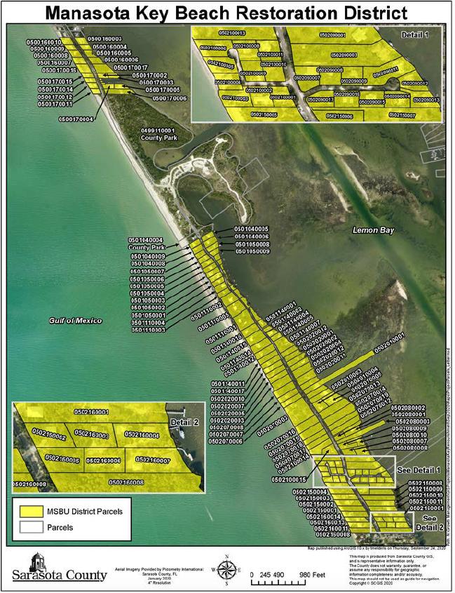 Final portion of Manasota Key Beach Renourishment Project ...